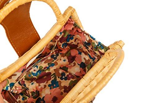 SALVADOR BACHILLER Tasche mit Griff - Monday Kelly - Beige m25b2HNcgM