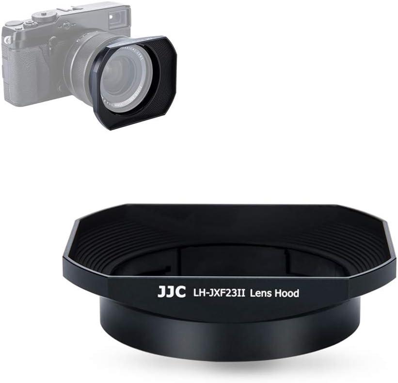 Black 23mm /& 56mm Lens Hood Shade for Fuji Fujifilm Fujinon Lens XF 23mm F1.4 R /& XF 56mm F1.2 R /& XF 56mm F1.2 R APD Replaces Fujifilm LH-XF23 Hood