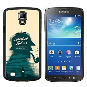 """Be-Star Único Patrón Plástico Duro Fundas Cover Cubre Hard Case Cover Para Samsung i9295 Galaxy S4 Active / i537 (NOT S4) ( Sherlock detective de Londres Big Ben"""" )"""