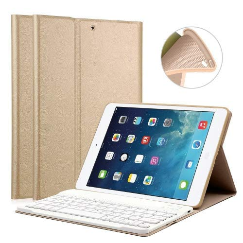 iPad Keyboard Case 9.7 for iPad 2018 View Angle Adjustable //iPad Air 2//iPad Air Magnetically Detachable Bluetooth V3.0 Keyboard iPad 2017 LUCKYDIY 6th,Gen Bluetooth Keyboard Stand Cover 5th,Gen Soft TPU Tablet Case