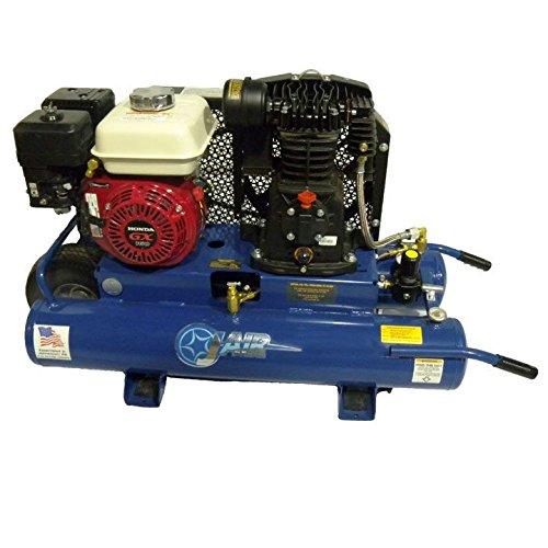 [해외]J-Air J103H5-9P 5.5 HP 가스 구동 휠 에어 컴프레서 #J103H5-9P / J-Air J103H5-9P 5.5 HP Gas Powered Wheeled Air Compressor #J103H5-9P