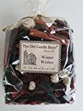 Winter Wishes Potpourri Large Bag - Perfect Winter or Christmas Decoration or Bowl Filler - Well Scented and Made in The USA
