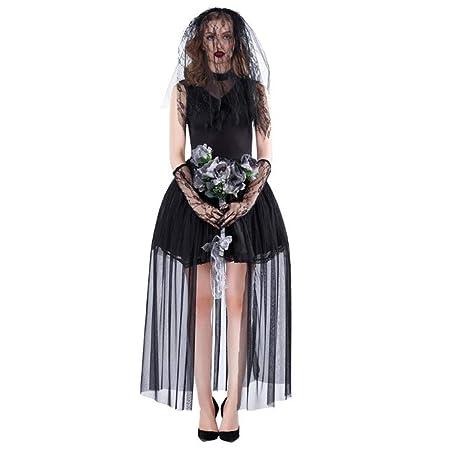 HZH Disfraz de Vampiro de Halloween para Mujeres Adultas, Que ...