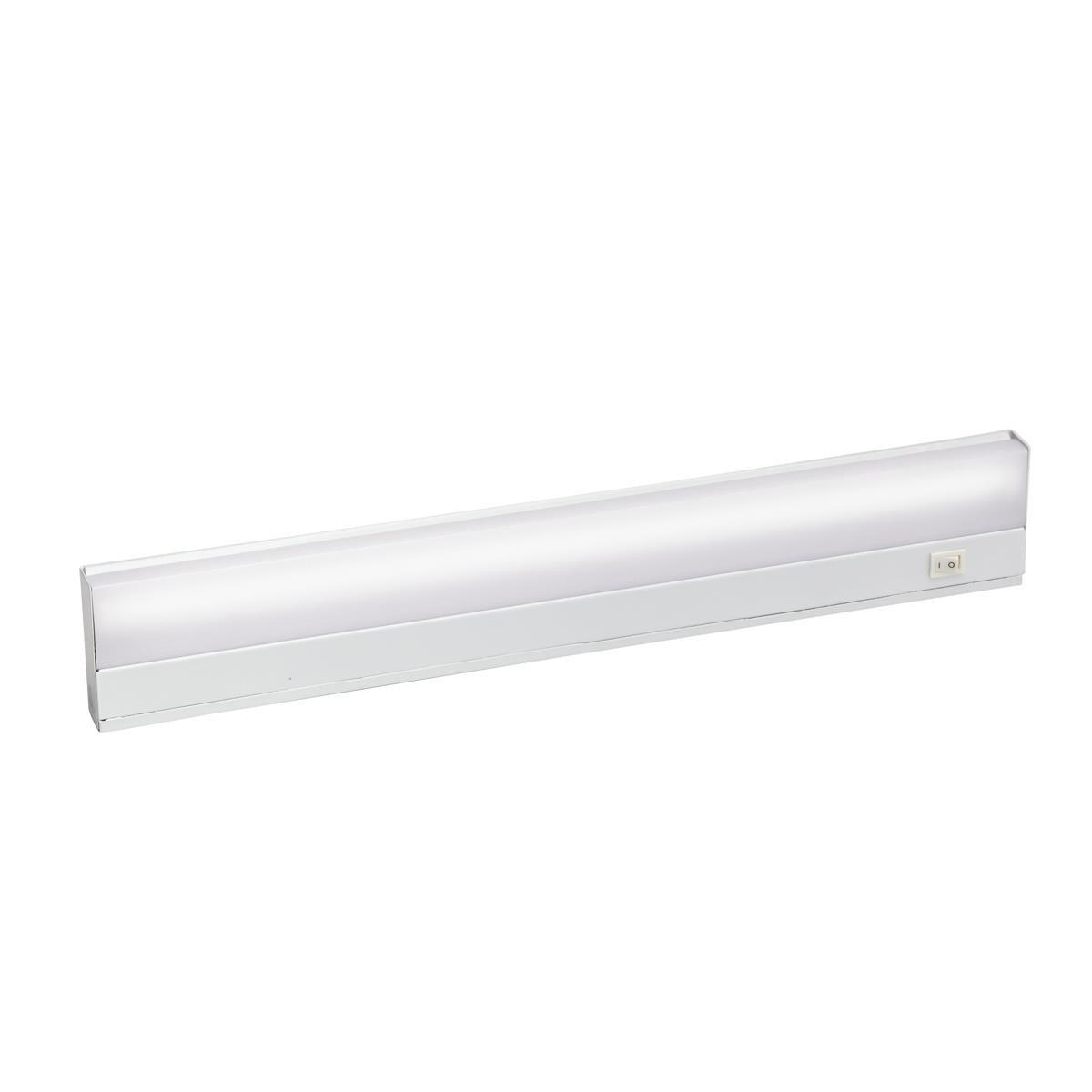 Kichler 10042WH 1-Light Task Work Direct Wire Undercabinet Light Fixture 13 Watt 120 Volt 2700K White