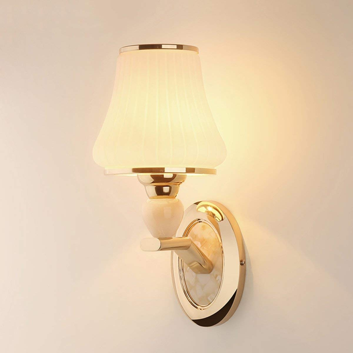 TJTJ 現代のシンプルなシングルヘッドウォールランプの寝室のリビングルームチャンネルバルコニーウォールランプ B07R8KJ73B