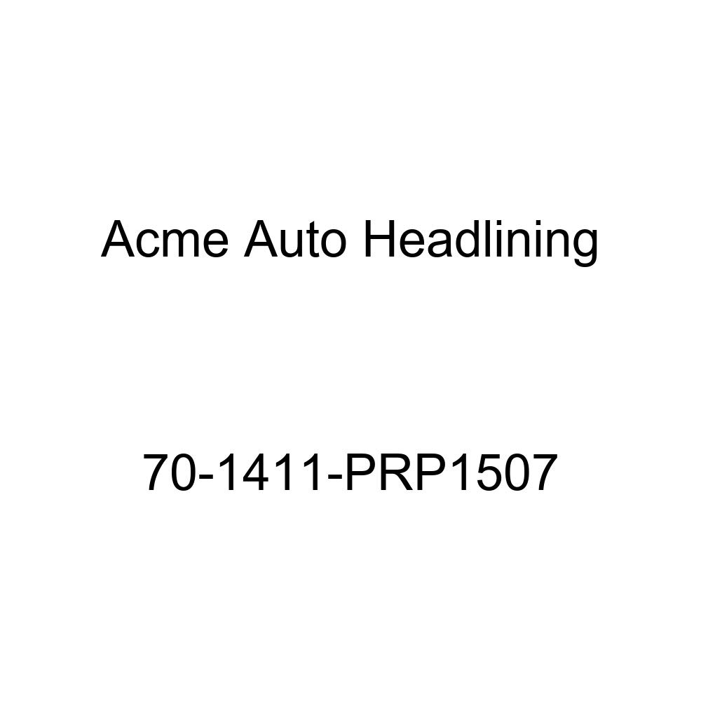 1970 Chevrolet Impala 2 Door Sport Hardtop Acme Auto Headlining 70-1411-PRP1507 Red Replacement Headliner 5 Bow