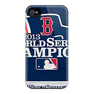 Special Design Back Boston Red Sox Phone Cases Covers For Iphone 4/4s