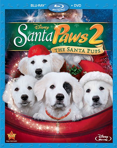 Santa Paws 2: The Santa Pups [Blu-ray + DVD Combo] (Santa Buddies The Search For Santa Paws)