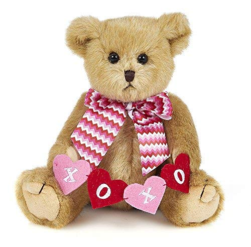 Bearington Kisses n' Hugs Plush Stuffed Animal Valentines