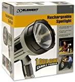 Element Professional Lighting 44581 Rechargeable 1,000,000 Candle Power Spotlight
