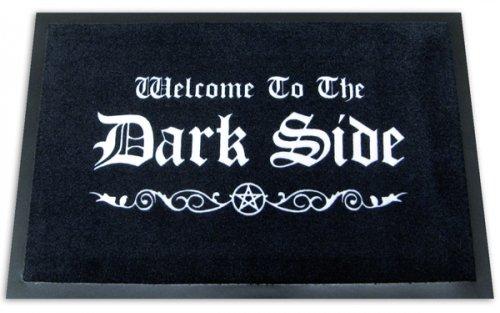 Welcome To The Dark Side - Doormat / Floor Mat (Size: 24' x 16')