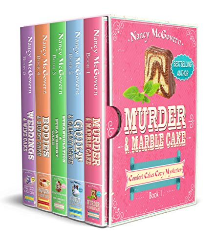 Comfort Cakes Cozy Mysteries, The Complete Series: A 5 Book Box Set With 5 Delicious Cake Recipes by [McGovern, Nancy]