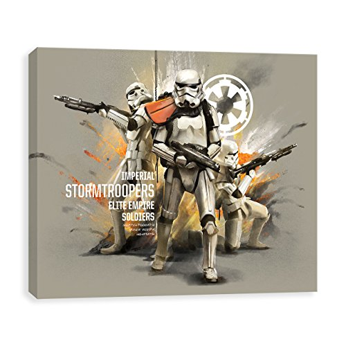 Star Wars Rogue One Stormtroopers Printed Canvas 14W x 11H x 1.25D by Artissimo Design