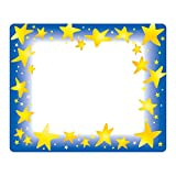 Trend Enterprises T-68022BN Star Brights Terrific Labels, 36 per Pack, 6 Packs