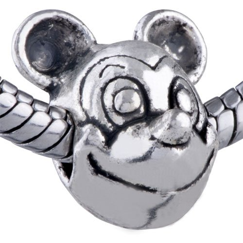 Pugster Charm Mickey Mouse European Bead Animal Fit Pandora Chamilia Biagi Charm Bracelet Pugster Mickey Mouse Charm