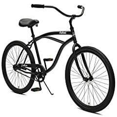 Go for the ultimate cruise on a critical cycle's chatham Beach cruiser. Reminiscent of a simpler time, the classically styled steel frame provides you with better shock absorption and a softer ride than aluminum frames. Stop on a dime with th...