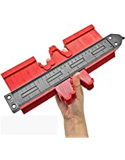Upgrade Contour Gauge with Lock 10 Inch Irregular Contour Duplicator Gauge for Shape Tracing Easy Cutting and Perfect Fit Tile Flooring Pipe Installation and Carpentry