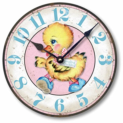 Cheap Item C9013 Vintage Style 10.5 Inch Duckling Baby Nursery Clock