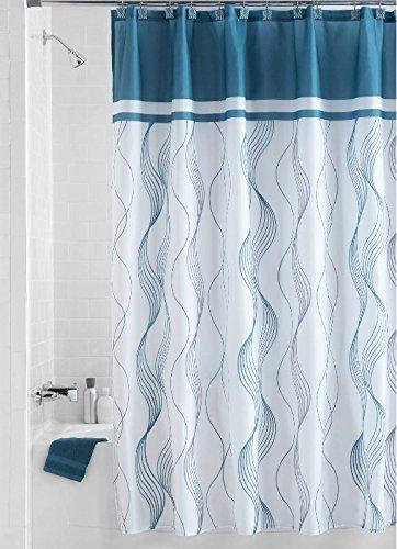 BESTLINENSTOYOU Shower Curtain Waterproof Mold And Mildew Resistant Fabric