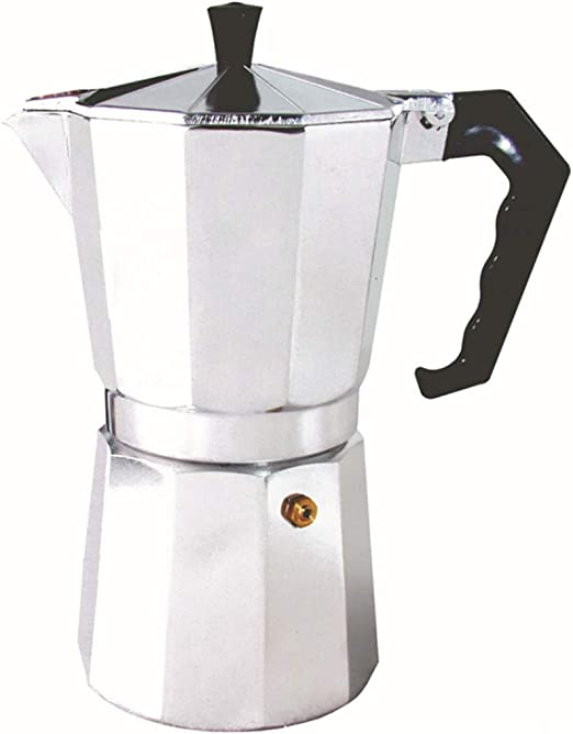 DYW-coffee pot 150/300/450/600 ml Cafetera de café de Aluminio ...