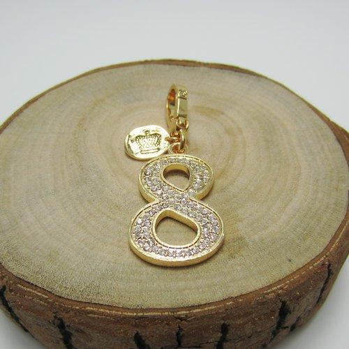 usongs Fashion lovely diamond gold necklace pendant