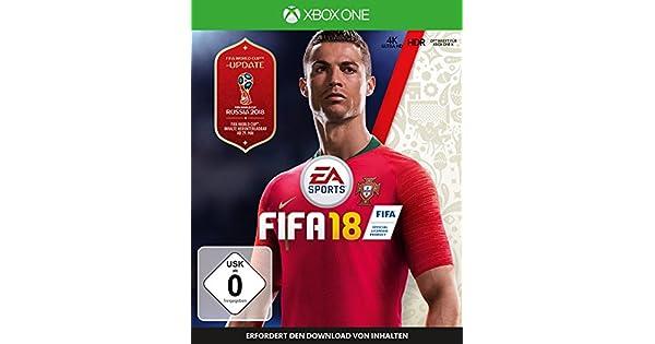 FIFA 18 - Standard Edition - Xbox One [Importación alemana]: Amazon.es: Videojuegos