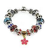 xtreme energy bracelet - zgshnfgk Silver-plated Bangle Women Fashion Crystal Charm Original Bracelet Ornament Valentine's Day Gift(Multicolor-17)