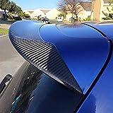 JC SPORTLINE Carbon Fiber Roof Spoiler Fits for