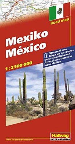 Hallwag Straßenkarten, Mexiko: With Touring Information (Hallwag Strassenkarten)