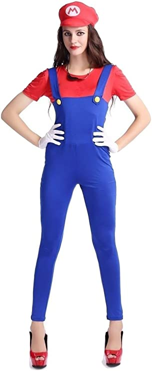Disfraz de Super Mario de Halloween, para despedida de soltera ...