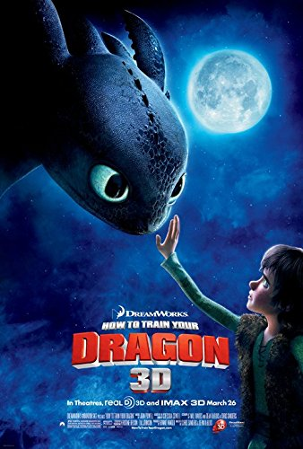 How to Train Your Dragon Poster Movie Double Sided Jay Baruchel Gerard Butler America Ferrera