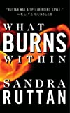 What Burns Within by Sandra Ruttan front cover