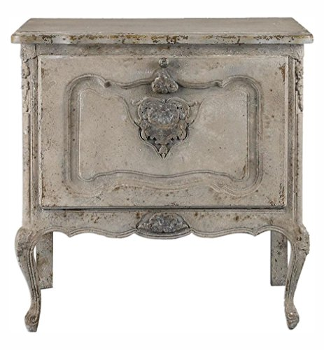 Fausta Aged Ivory Accent Chest by Uttermost
