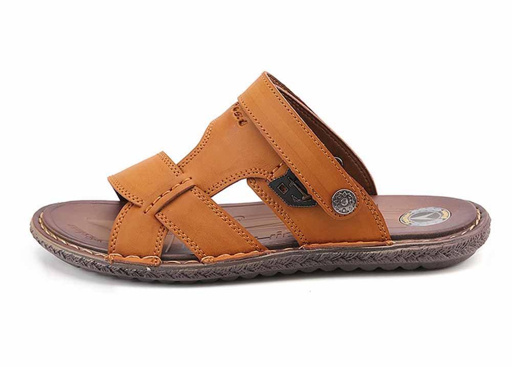 GLSHI Uomini Casual Open Toe Sandali 2018 Primavera Estate Nuove Scarpe Da Spiaggia All'aperto Moda Pantofole