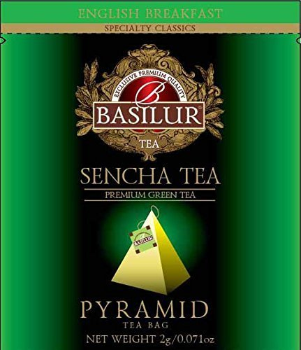 Basilur Sencha Green Biodegradable Ultra Premium
