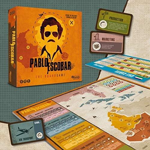 Just Games Pablo Escobar el Juego de Tablero - sólo Juegos: Amazon.es: Hogar