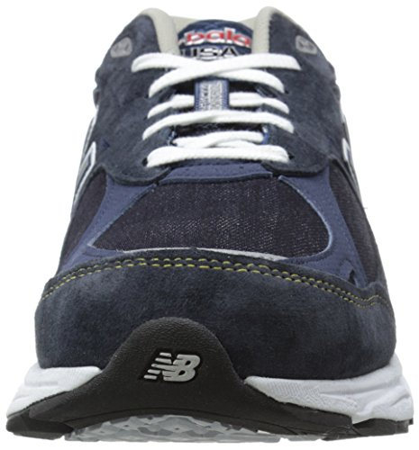 New Balance Herren M990v3 Laufschuh Jeansblau / Grau