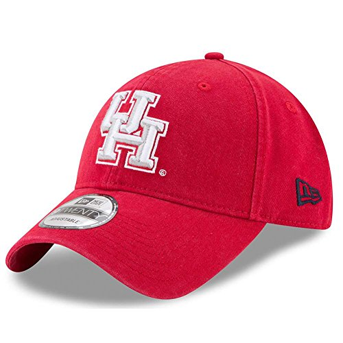 New Era Houston Cougars Campus Classic Adjustable Hat - Team Color, One Size -