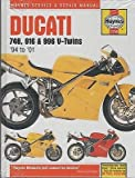1994-2001 HAYNES DUCATI 748, 916, & 996 V-TWINS SERVICE REPAIR MANUAL (3756)