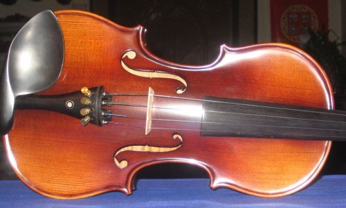Song Violins Full Size 4/4 Stradivarius Factory Direct Mid-Grade Student Violin by Song