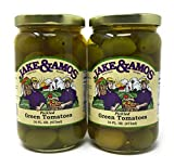 jar of tomatoes - Jake & Amos - Pickled Green Tomatoes / 2 - 16 Oz. Jars