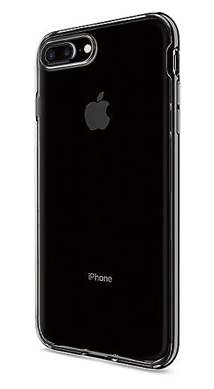 49dbd070c51 spigen Funda iPhone 7 Plus, [Neo Hybrid Crystal] Premium Bumper [Jet Black