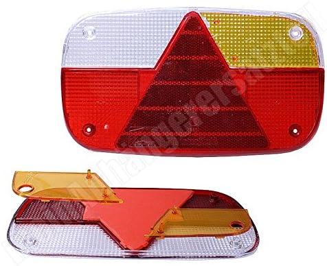 Aspöck Multipoint 3 Lichtscheibe Ersatzglas Für Rückleuchte Links Rechts Auto