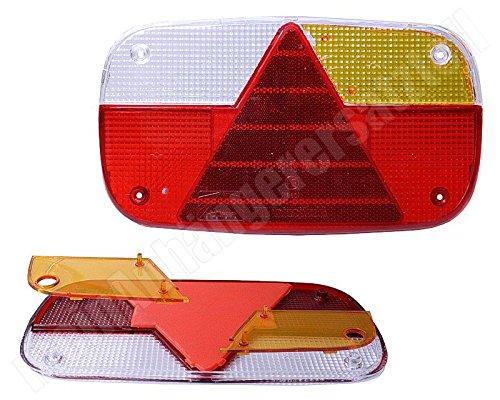 Asp/öck multipoint 3 verre diffuseur verre de rechange pour /éclairage arri/ère gauche /& droite
