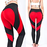This pair of yoga performance pants can easily go from your morning running workout session to brunch with your friends.Whether is yoga,aerobics,pilates,hiking,cycling,running,jogging,workout,fitness,gymnastics or daily casual lounge use,you will loo...