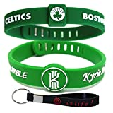 Adjustable Silicone Wristband Bracelets for Sports Fans-Awesome Gift for Your Family and Friends. (Celtics11)