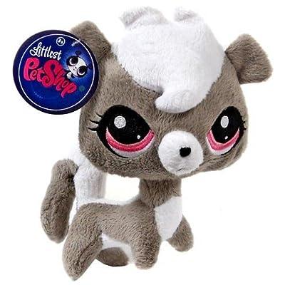 Littlest Pet Shop 6 Inch Plush Pet Figure Pepper Clark Skunk: Toys & Games