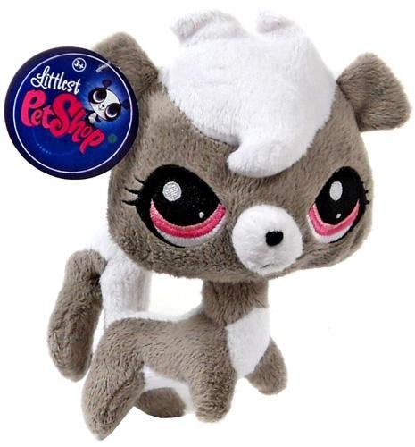 Littlest Pet Shop 6 Inch Plush Pet Figure Pepper Clark ()