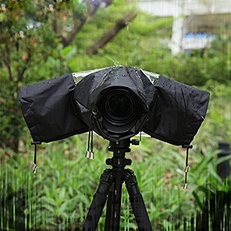 Profesional Cámara Protector de lluvia con cerrado Mano mangas ...