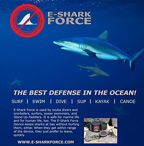 E-Shark Force Electronic Shark Deterrent - Dive/Swim Unit